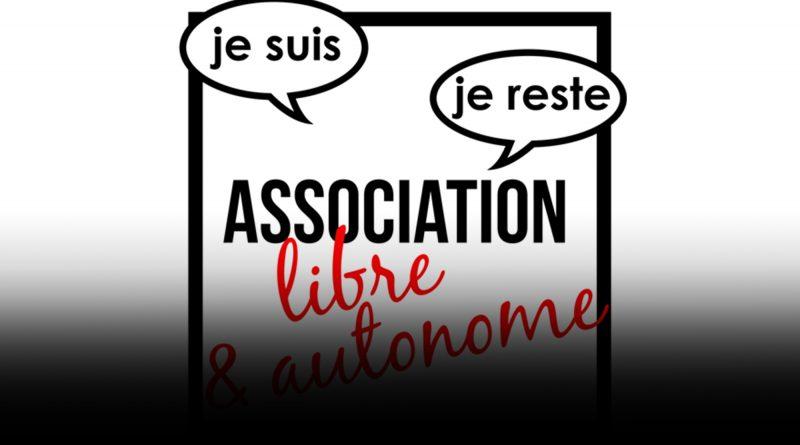 Je suis, je reste, une association libre et autonome